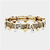 Golden Notes Flex Bracelet
