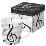 Love of Music Mug Gift Set
