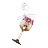 Crack Me Up! Mini Wine Nutcracker Ornament