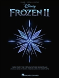 Frozen II for Piano Vocal and Guitar Book