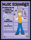 Music Scrambles Book and CD