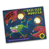 Freddie The Frog And The Bass Clef Monster Book and CD