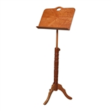 Roosebeck 'Colonial' Single Tray Music Stand- Red Cedar