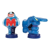 The Beatles Blue Meanie Salt & Pepper Shakers