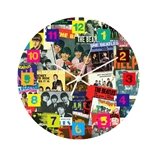 Any Time At All Beatles Wall Clock