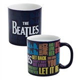 The Beatles Heat Reactive Ceramic Mug