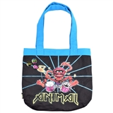 Drumming Animal Tote Bag