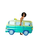 Groovy Tunes Retro Van Pool Float