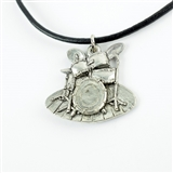 Drumset Statement Necklace