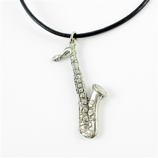 Saxophone Statement Necklace