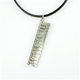 Keyboard Statement Necklace