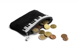 Leather Piano Coin Purse