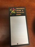 Thoughts From a Trebled Mind Note Pad