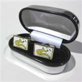 Framed Saxophone Cufflinks