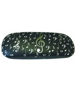 Glasses Case - Music Clefs and Notes