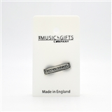 Harmonica Pewter Pin