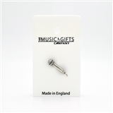Microphone Pewter Pin