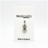 Violin Pewter Pin