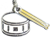 Snare Drum Charm/Zipper Pull