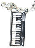 Keyboard Charm/Zipper Pull