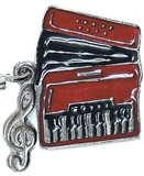 Accordion Charm/Zipper Pull