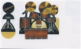 3D Greeting Card -Drum Kit
