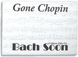 Gone Chopin Post-it Notes (Individual)