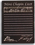 Card Covered Post-it Notes-Mini Chopin Liszt (Individual)