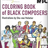 Coloring Book of Black Composers
