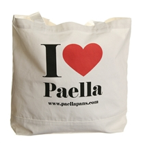 """I Love Paella"" Tote Bag"