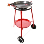Burner, Tripod & 18-inch Pan Set