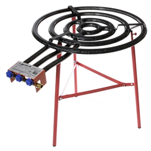 Jumbo Burner, Model L70 with Reinforced Tripod