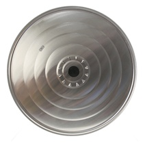 """AS IS"" 16 inch Stainless Steel Lid (40 cm)"
