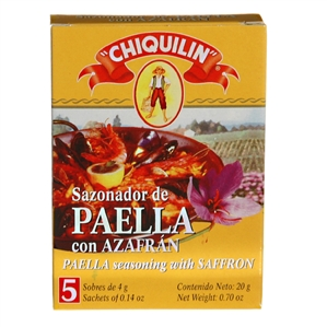 Paella Seasoning by Chiquilin