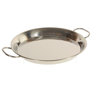 """AS IS"" Stainless Steel Paella Pans - (various sizes)"