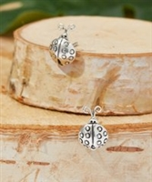 Sterling Silver Lady Bug Stud Earring