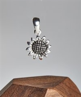 Sterling Silver Sunflower Pendant