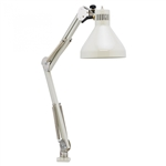 "O.C. White 25800-22 Heavy Duty Task Lighting 45"" Reach Table Edge Clamp"