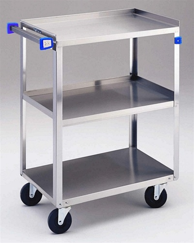 Stainless Steel Cart - 27 1/2\