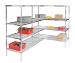 4-Shelf Add-OnUnits - Stationary Shelving