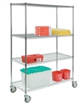 4-Shelf Carts - Lakeside Manufacturing