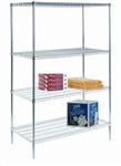 4-Shelf Starter Unit - Stationary Shelving