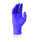 Kimberly Clark 55080 X-Small Purple Nitrile Exam Gloves 100/Box