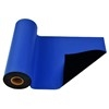 "SCS 770078 18"" x 50' Dark Blue 2-Layer R3 Dissipative Rubber Worksurface Roll"