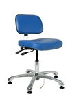 "Bevco 8051 Doral Series ESD Upholstered Chair - Seat Height Adjusts 15.5"" - 21"""
