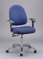 Bevco 9051LE-A8 Deluxe Ergonomic Seating-ESD with Arms