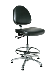 "Bevco 9551M-S Integra Deluxe Stool Seat Height Adjusts 21.5"" - 31.5"""