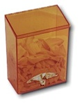 S-Curve AT-100-A Amber Acrylic Blulk Dispenser