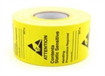 "Botron B6712 Writable Awareness Label 1.75""x 2.5"" 500/Roll"