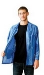 Botron B7307 3XL Blue Lightweight ESD Jacket